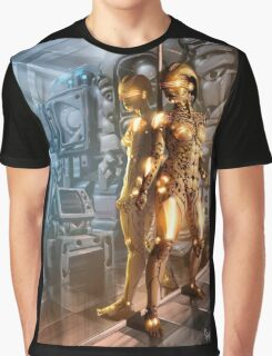 Cyberpunk Painting 072 Graphic T-Shirt