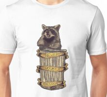 Never doubt a raccoon (plain/white) Unisex T-Shirt
