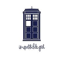 Impossible Girl Photographic Print