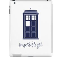 Impossible Girl iPad Case/Skin