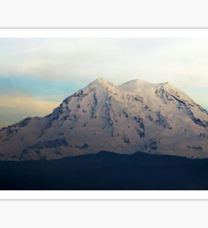 Mt. Rainier from Tanwax Sticker
