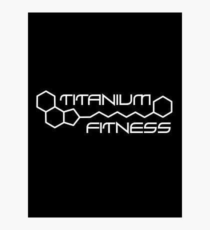 Titanium Fitness Photographic Print