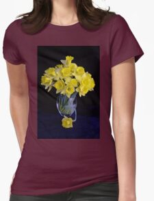 Spring Has Sprung...So I Brought It Indoors! Womens Fitted T-Shirt