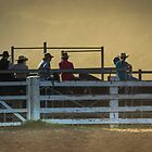 Sunset Cowboys by Clare Colins
