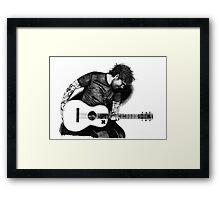 Ed Sheeran Drawing Framed Print