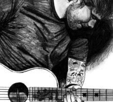 Ed Sheeran Drawing Sticker