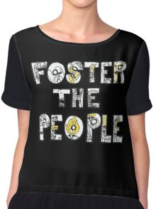Foster The People Logo Chiffon Top