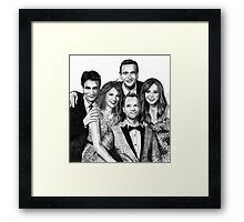 How I Met Your Mother Drawing Framed Print