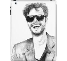 Matthew Gray Gubler Drawing iPad Case/Skin