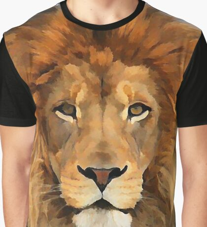 Lion Graphic T-Shirt