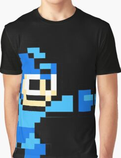 Mega Man Game 8-Bits Graphic T-Shirt