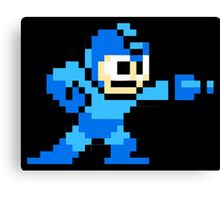 Mega Man Game 8-Bits Canvas Print