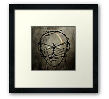 Prisoner of conscience Framed Print
