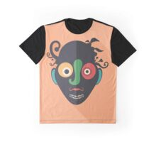 Amazed Clown Graphic T-Shirt