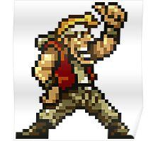 Metal Slug Game 8-Bits Poster
