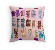 Feathers by katrina Throw Pillow