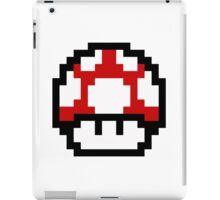 Mario Bros Game Hongo Champiñon 8-Bits iPad Case/Skin