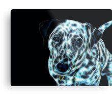 Kirra the Fractalius Dalmatian Dog Metal Print