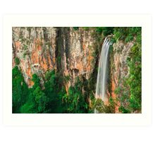Purlingbrook Falls in Springbrook Art Print