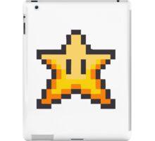 Mario Bros Star Estrella 8-Bits iPad Case/Skin
