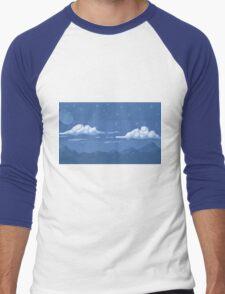 Night in the Mountains Men's Baseball ¾ T-Shirt