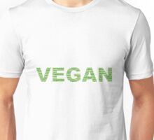 Word Cloud Vegan Unisex T-Shirt