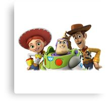 3 story toy Canvas Print