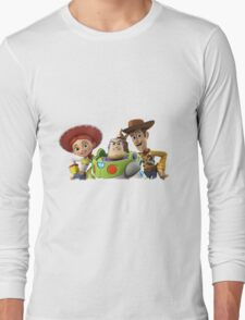 3 story toy Long Sleeve T-Shirt