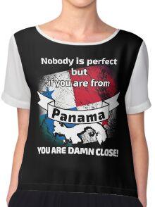 Perfect panama papers Women's Chiffon Top