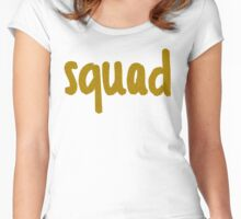 Glitter Squad Women's Fitted Scoop T-Shirt