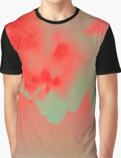 Sky red blue turquoise Graphic T-Shirt