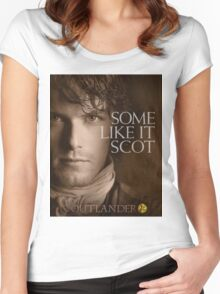 Outlander/Jamie Fraser/Some like it Scot Women's Fitted Scoop T-Shirt