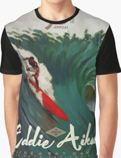 Quicksilver 30th Annual - Surf Poster Graphic T-Shirt
