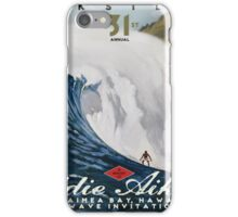 Quicksilver 31st Annual - Surf Poster iPhone Case/Skin