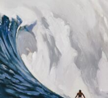Quicksilver 31st Annual - Surf Poster Sticker