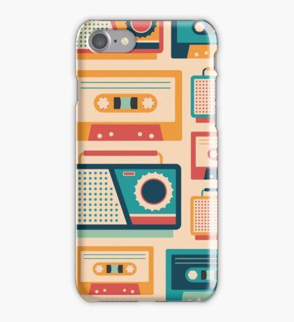 Audio Cassettes and Radios iPhone Case/Skin