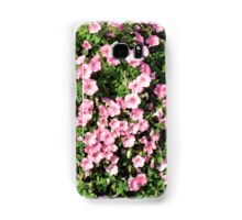 Beautiful spring bush with pink flowers. Samsung Galaxy Case/Skin