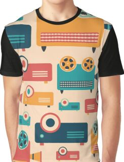 Retro Projectors Graphic T-Shirt