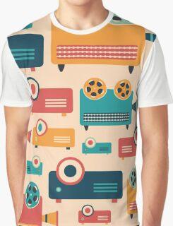 Retro Projectors Graphic T-Shirt