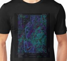USGS TOPO Map Connecticut CT New Britain 330701 1966 24000 Inverted Unisex T-Shirt