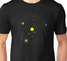 Planets in Our Solar System Unisex T-Shirt