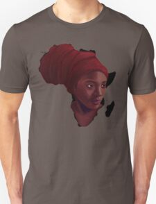 AFRIKA: Mother in Meditation Unisex T-Shirt