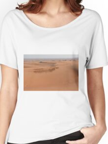 Sand dunes in the desert. Women's Relaxed Fit T-Shirt