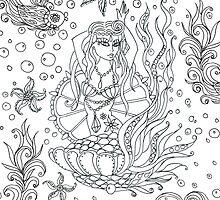 Fairground Mermaid  by sue mochrie