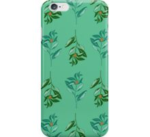 Berries (orange + green) iPhone Case/Skin