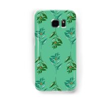 Berries (orange + green) Samsung Galaxy Case/Skin