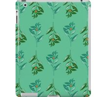 Berries (orange + green) iPad Case/Skin