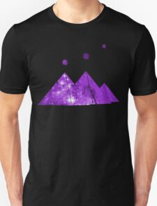 Cosmic Egypt Giza Pyramids with Stars of Orion's Belt Unisex T-Shirt