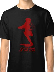 Winter Soldier - End of the Line - Silhouette (Red) Classic T-Shirt