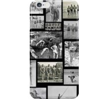 Vintage Swimmers  iPhone Case/Skin